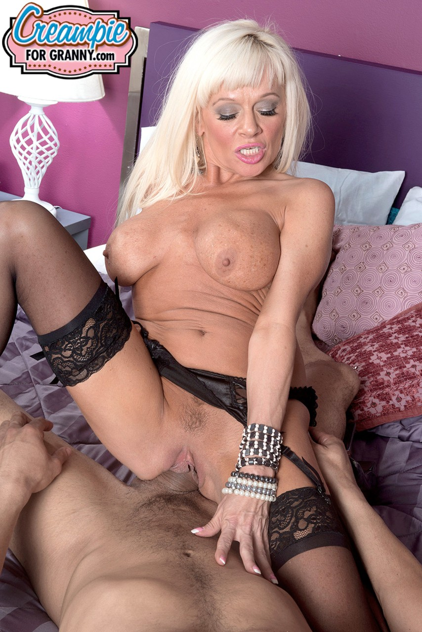 Aged blonde amateurish Farrah Rose sports a creampie subsequently intercourse with junior buddy porn photo #323697008 | Creampie For Granny, Farrah Rose, Granny, mobile porn