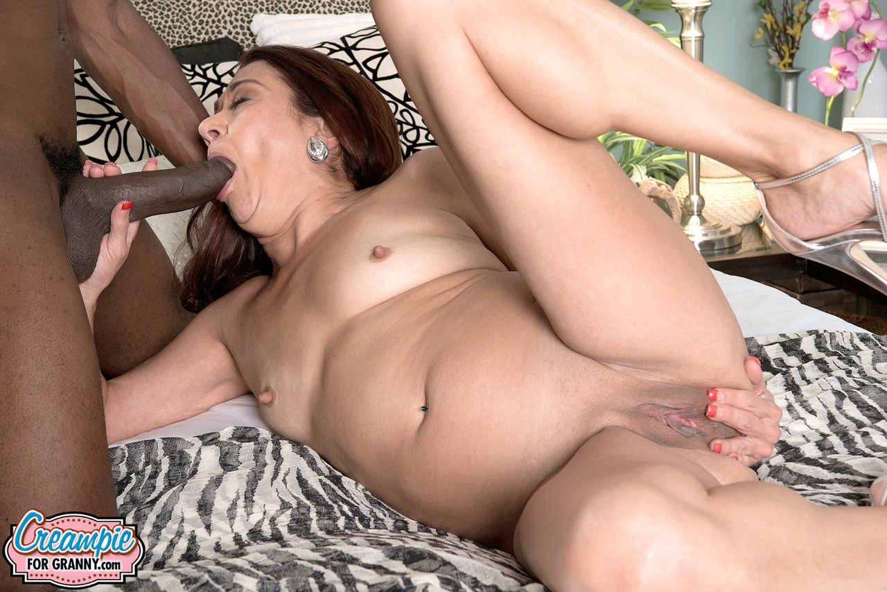 Over 50 divorcee Renee Dim is left with creampie subsequently sex a Big-black-rooster porn photo #323623975 | Creampie For Granny, Renee Black, Granny, mobile porn