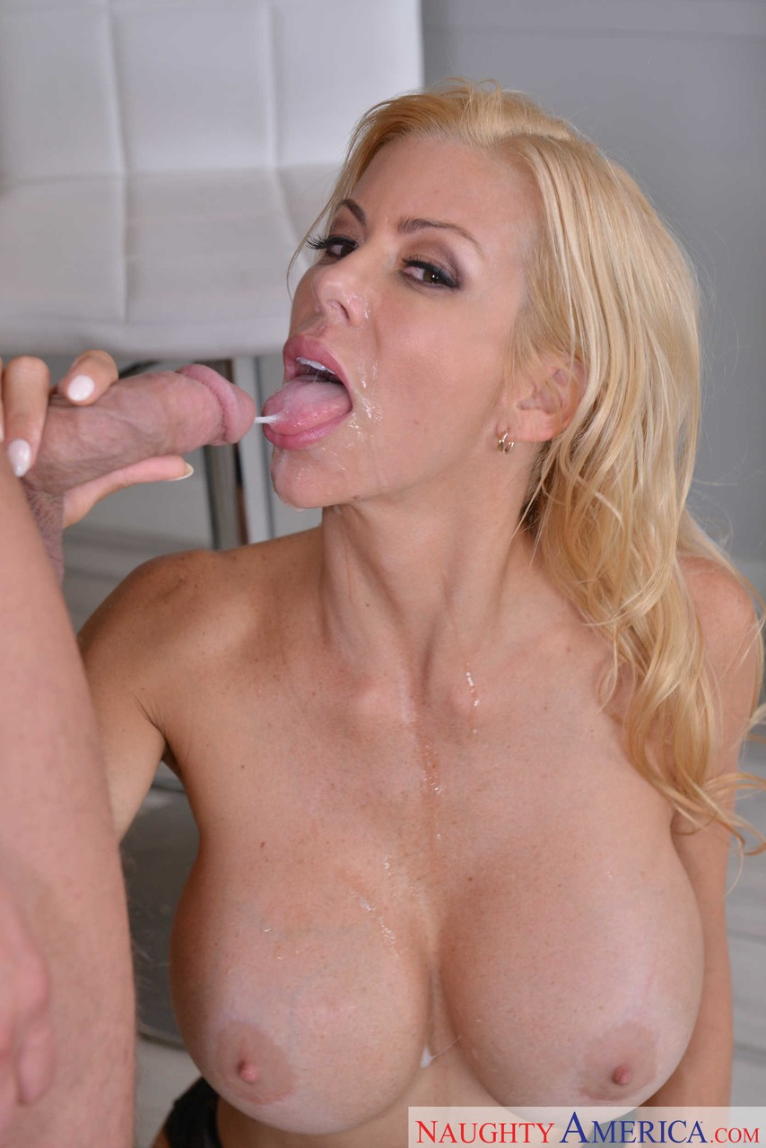 Blonde wife Alexis Fawx demands that her husband wakes up and fucks her