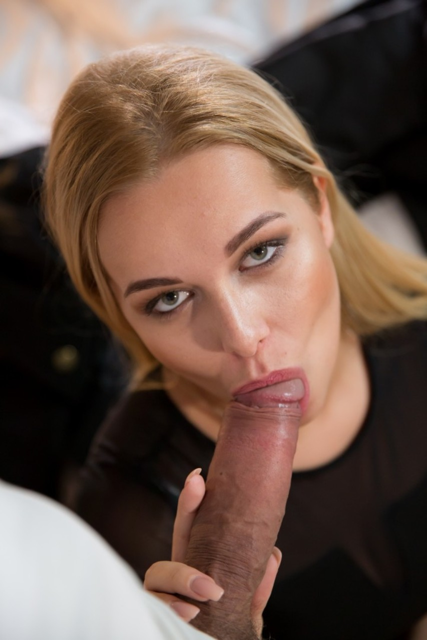 Beautiful blonde female Nikky Dream gets butt banged while having sex