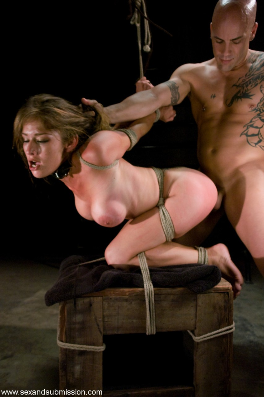 Restrained and fucked