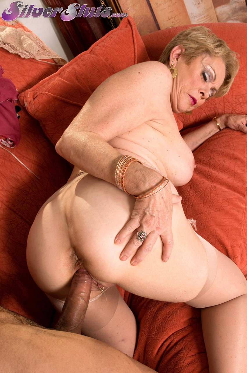 Fuck granny in the ass
