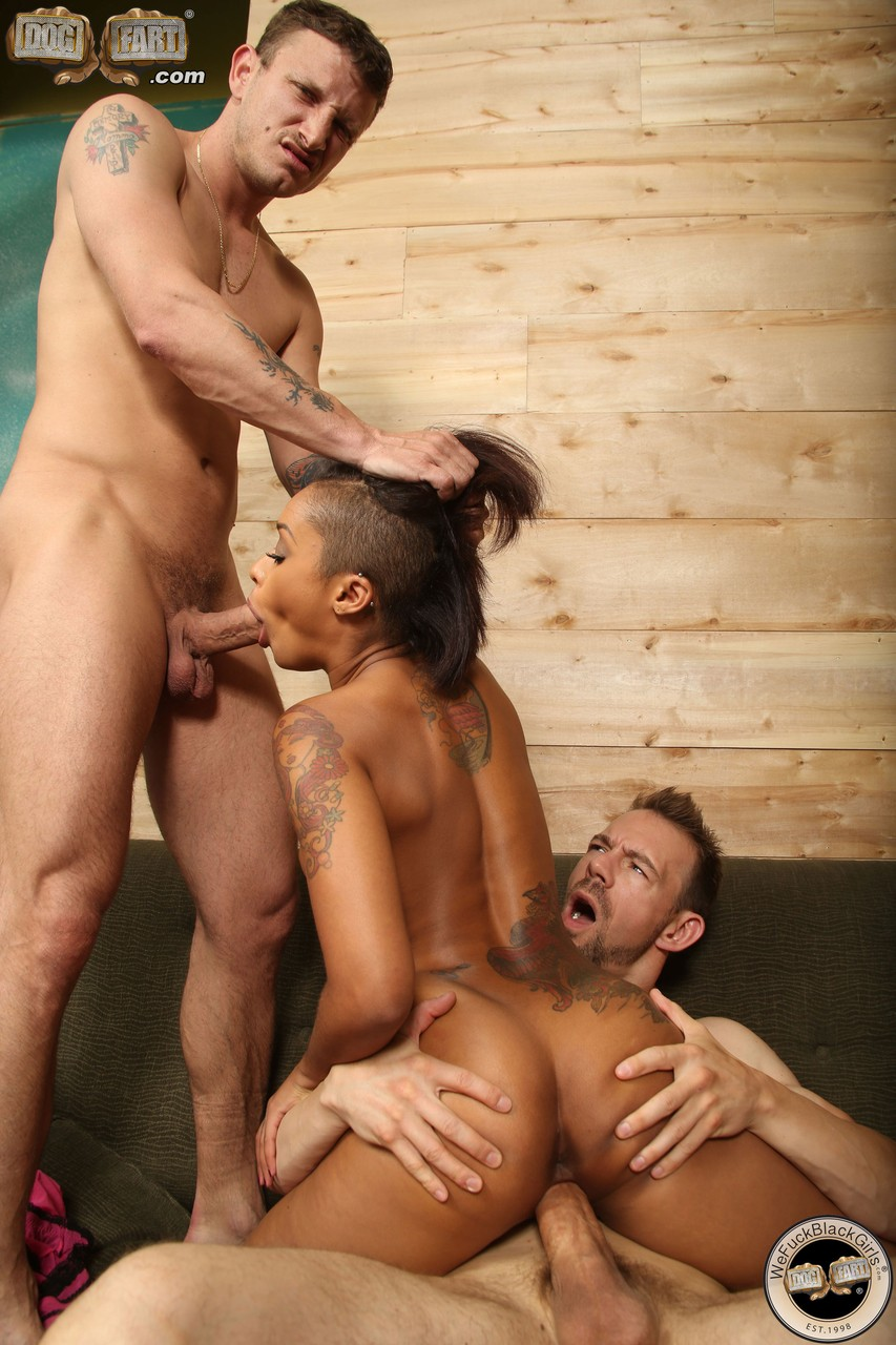 Two Men Fucking One Girl