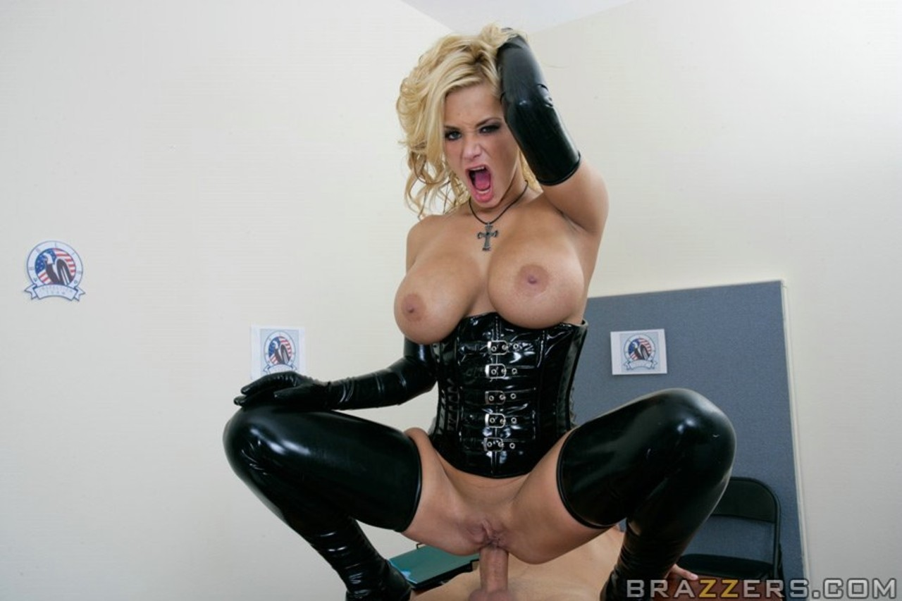 shyla stylez in latex