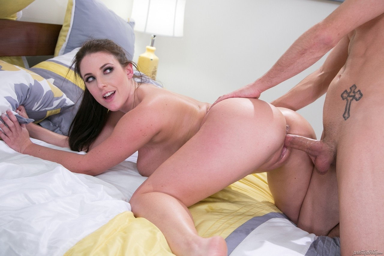 Busty Angela White wants some of that rock-solid cock inside of her
