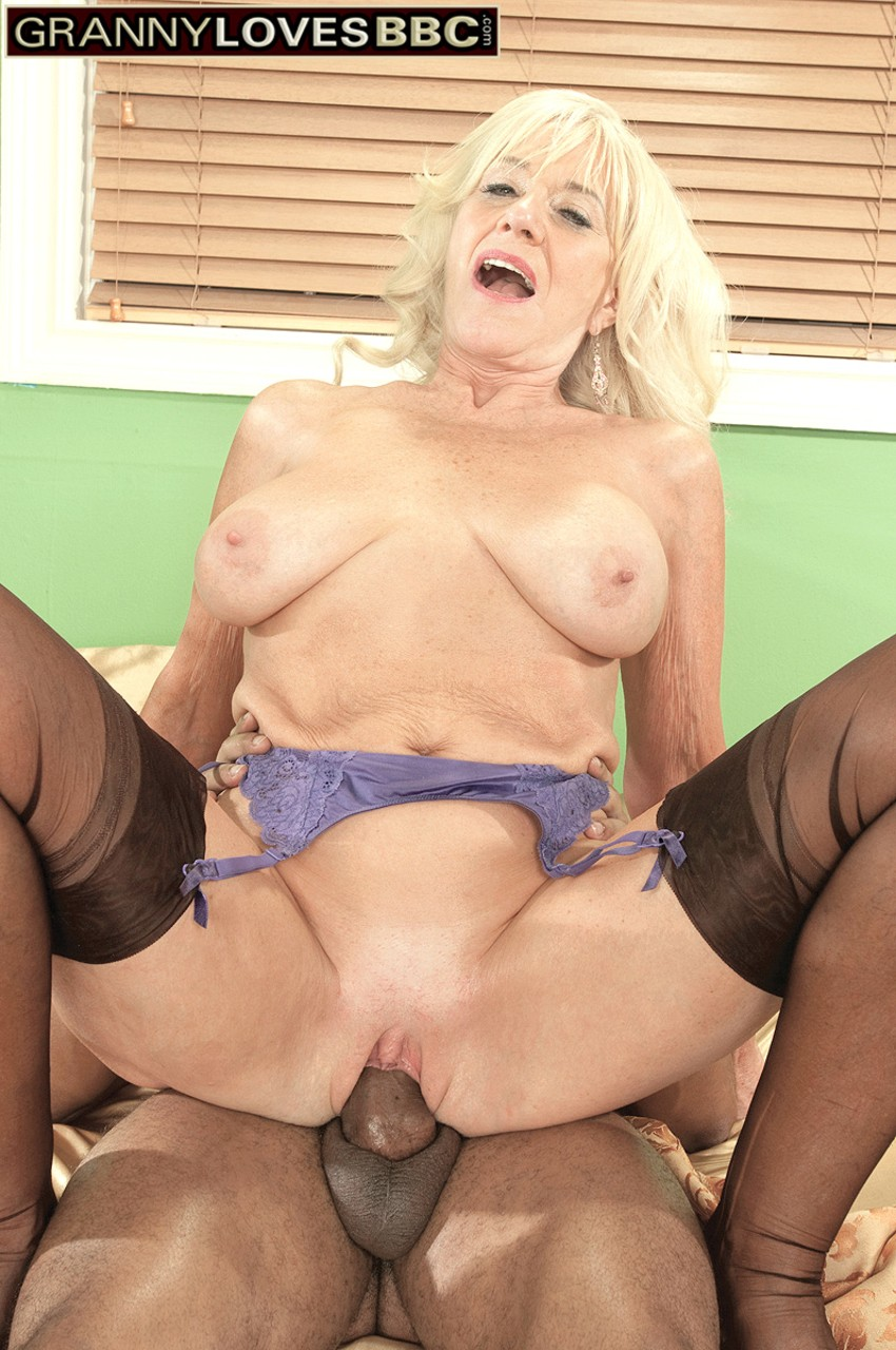 Granny creampied by young bbc