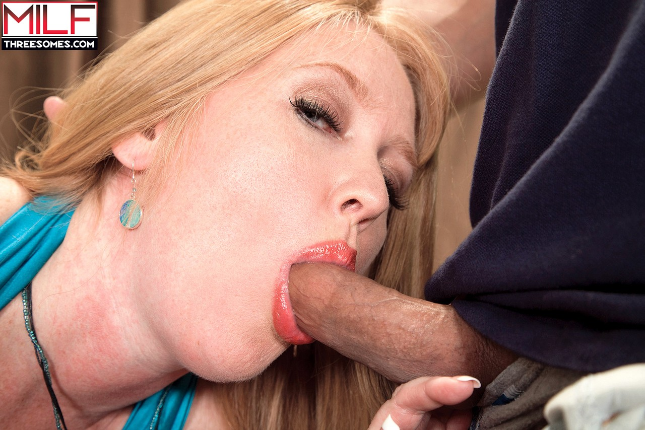 Experience allows Heather Barron to manage with two hard cocks simultaneously