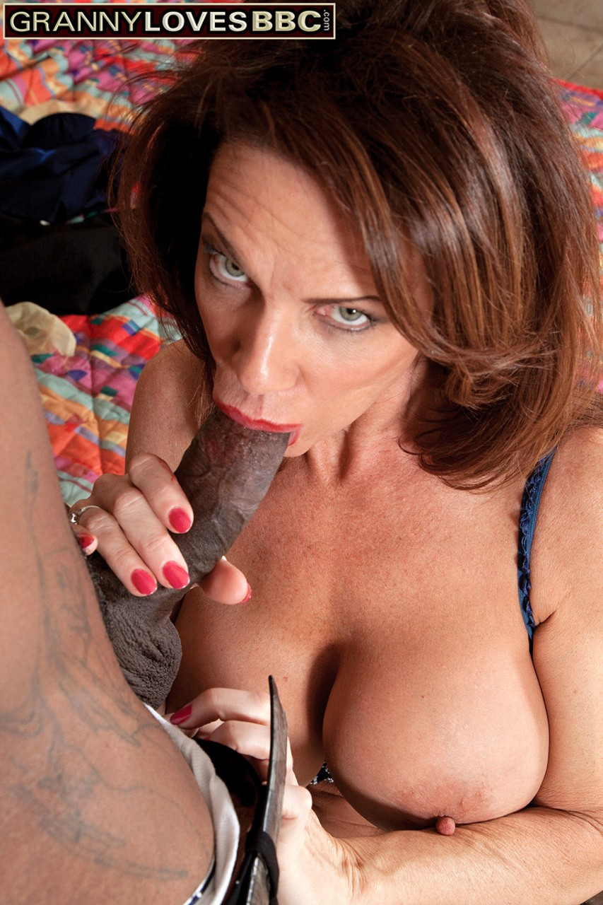 Stewardess Deauxma gets penetrated by a big black cock in hardcore fashion