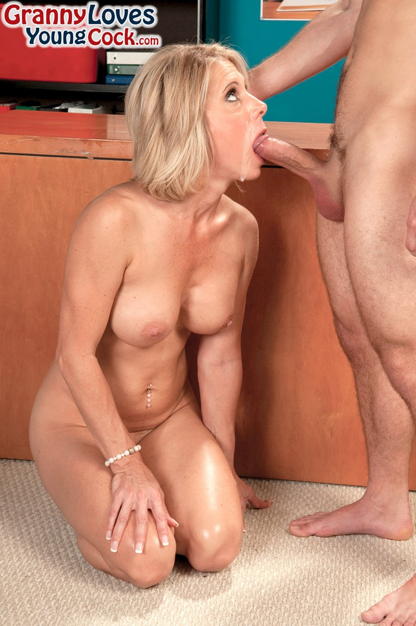 ... Jenny Mason always offers anal penetration if her fucker doesn't have  condom. Brought By: Granny Loves Young Cock