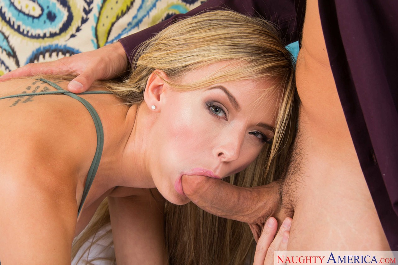 Lucky guy cums over blondes gorgeous face after fucks her gentle pussy