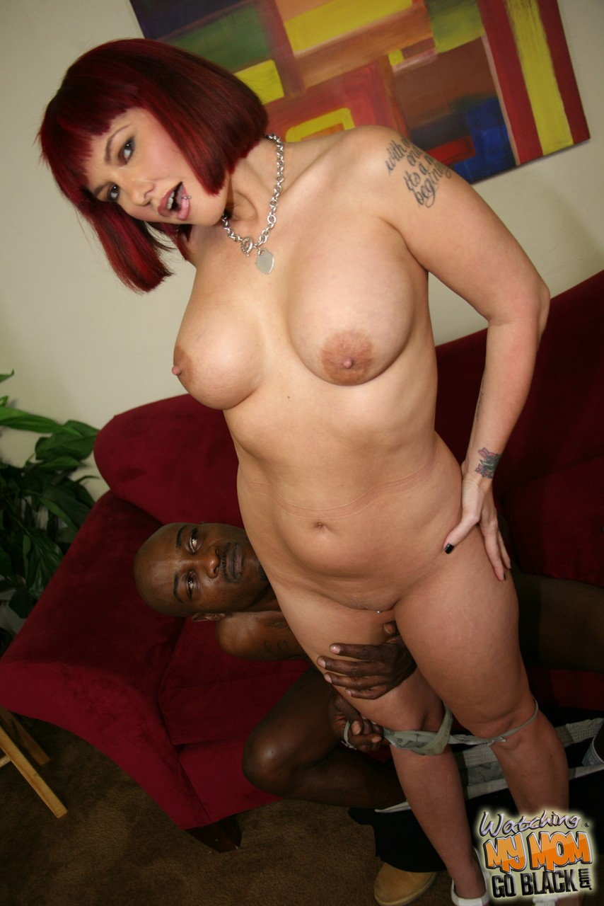 Redhead with tattoos Carrie Ann fucks a BBC to pay for her hubbys debts