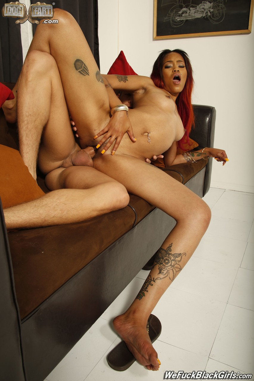 Ebony Goddess Kyra uses charms and body to perform this Friday night in club
