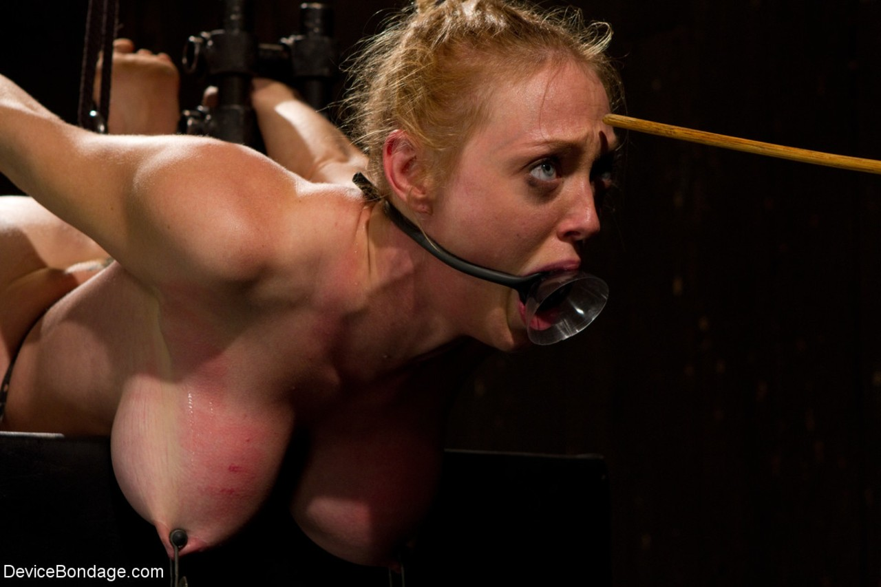 Dee Williams experiences hardcore bdsm with metal bondage and humiliation
