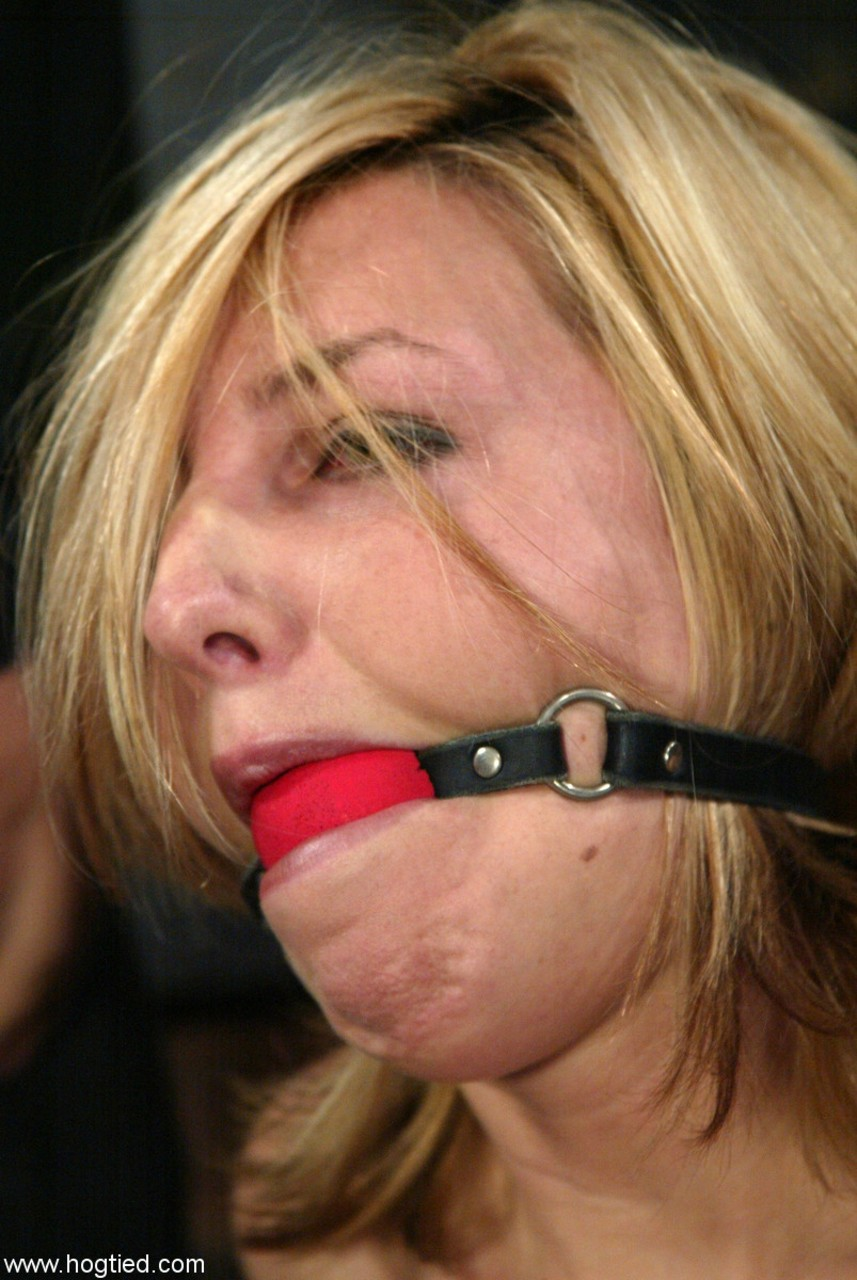 Ball Gag And Hogtie