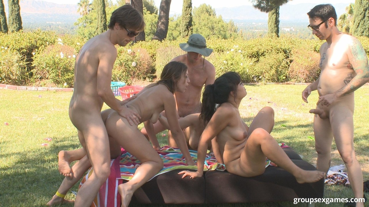 Camping sex games