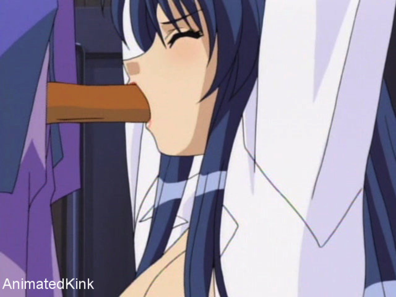 Animated maid getting fucked