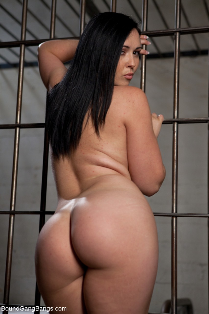 Gangbang and dp of stockings brunette inc interracial - 1 9