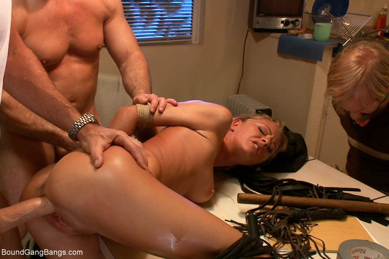 Wife fucked to pay debt