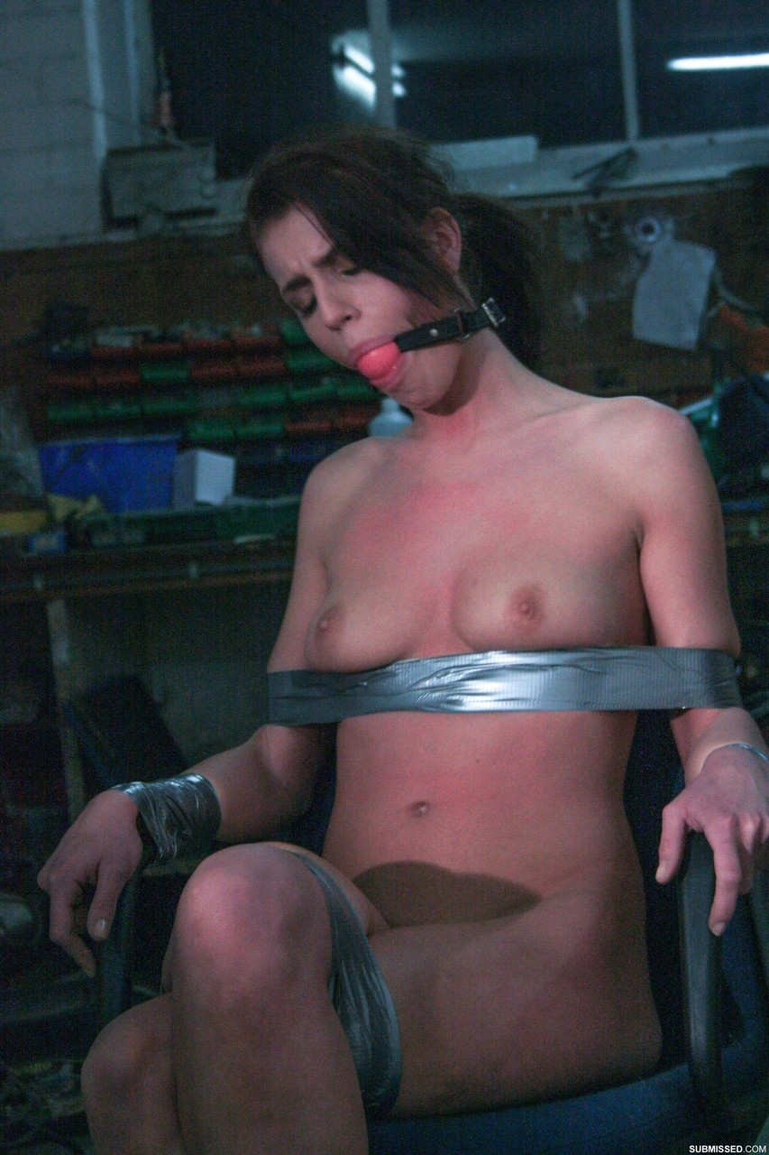 Home alone revisited duct taped blonde completely helpless