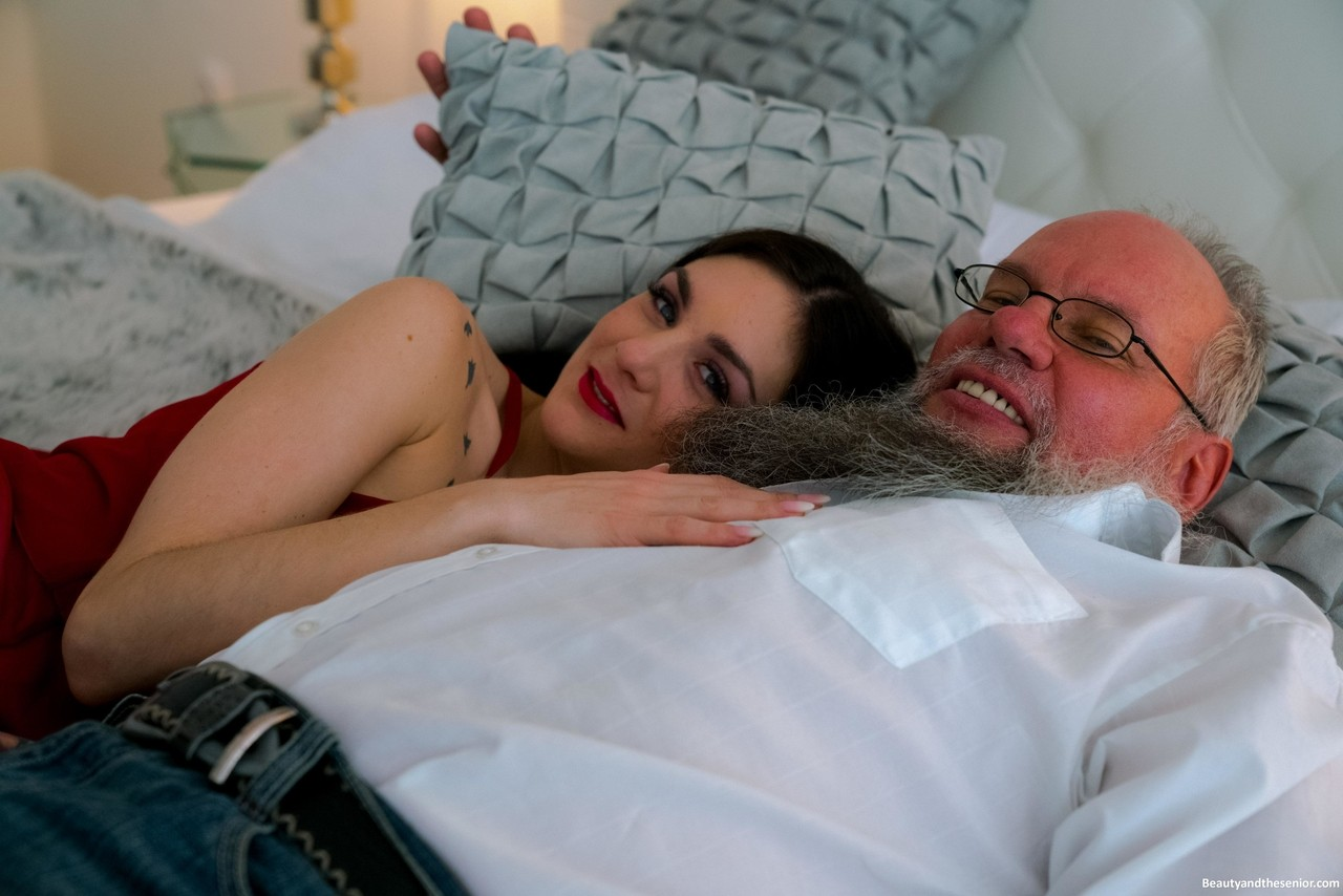 Younger and aged sweethearts ending off a rigid coitus seance with a accomplish sixty-nine porn photo #327448633 | Granddadz, Lulu Gun, Atilla, Brunette, Skinny, Teen, mobile porn