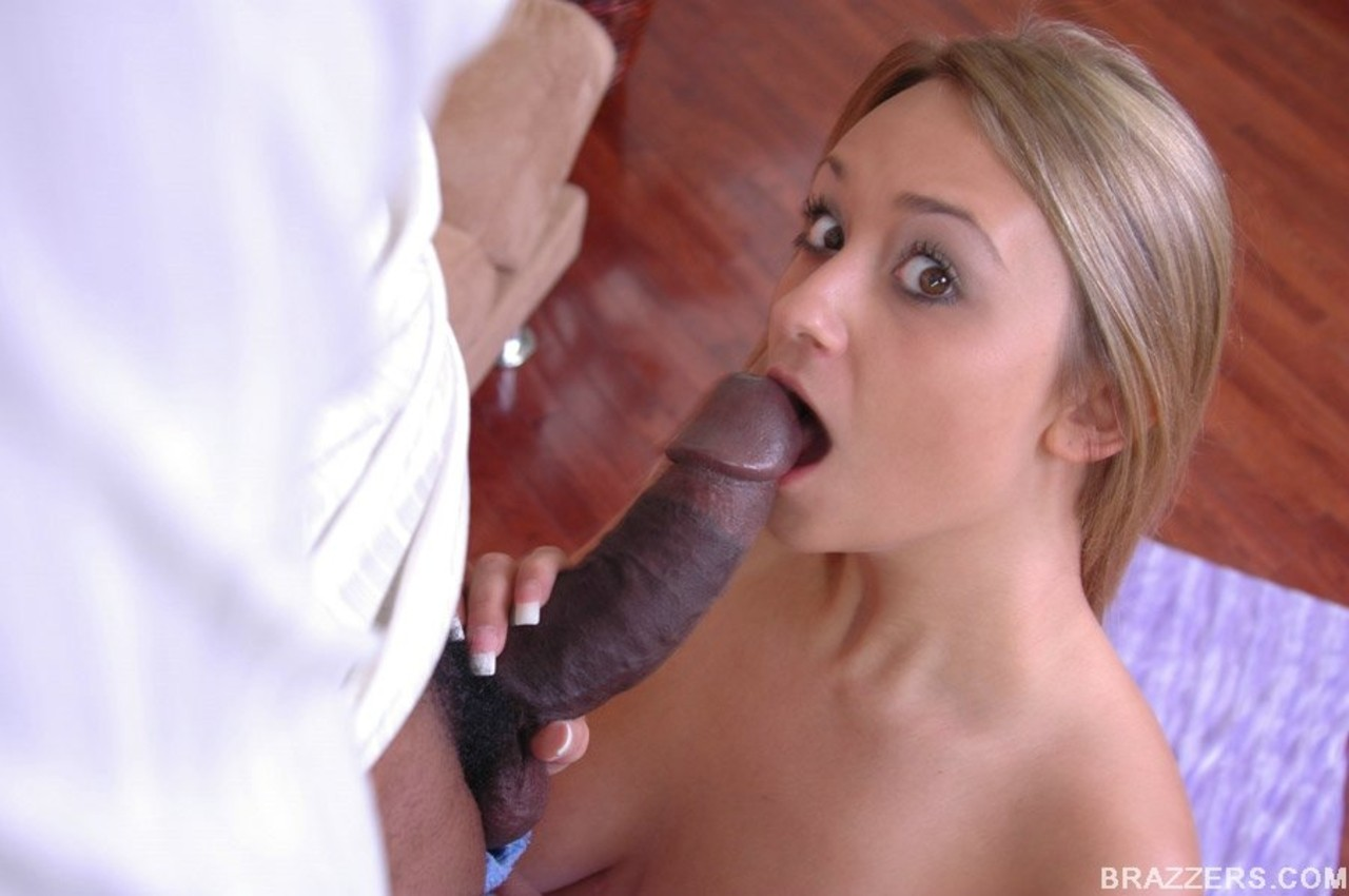 her first big black dick