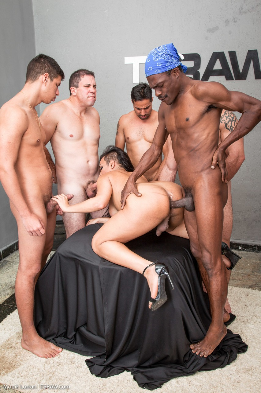 Gangbang Shemale Photos