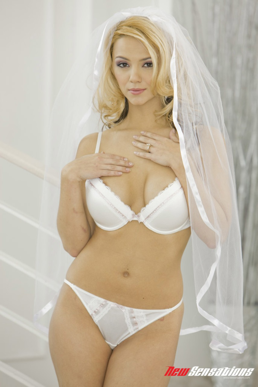 ashlynn brooke is a beautiful bride who will pleasure her husband