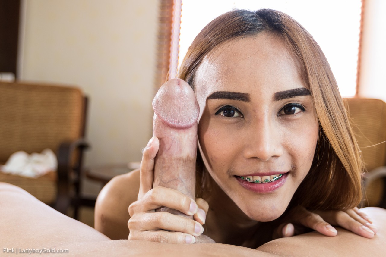 Asian Ladyboy Tiny Dick