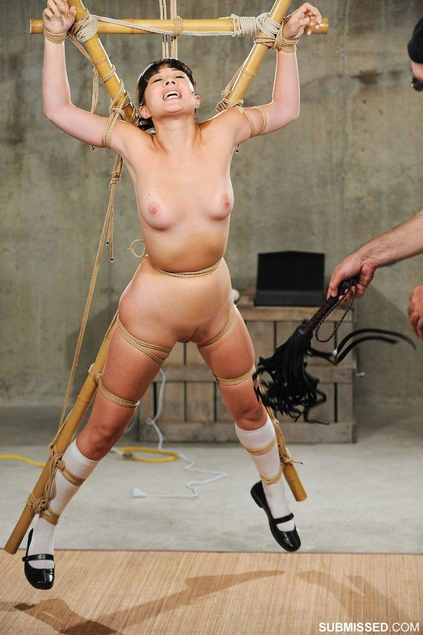 Punished Asian girl