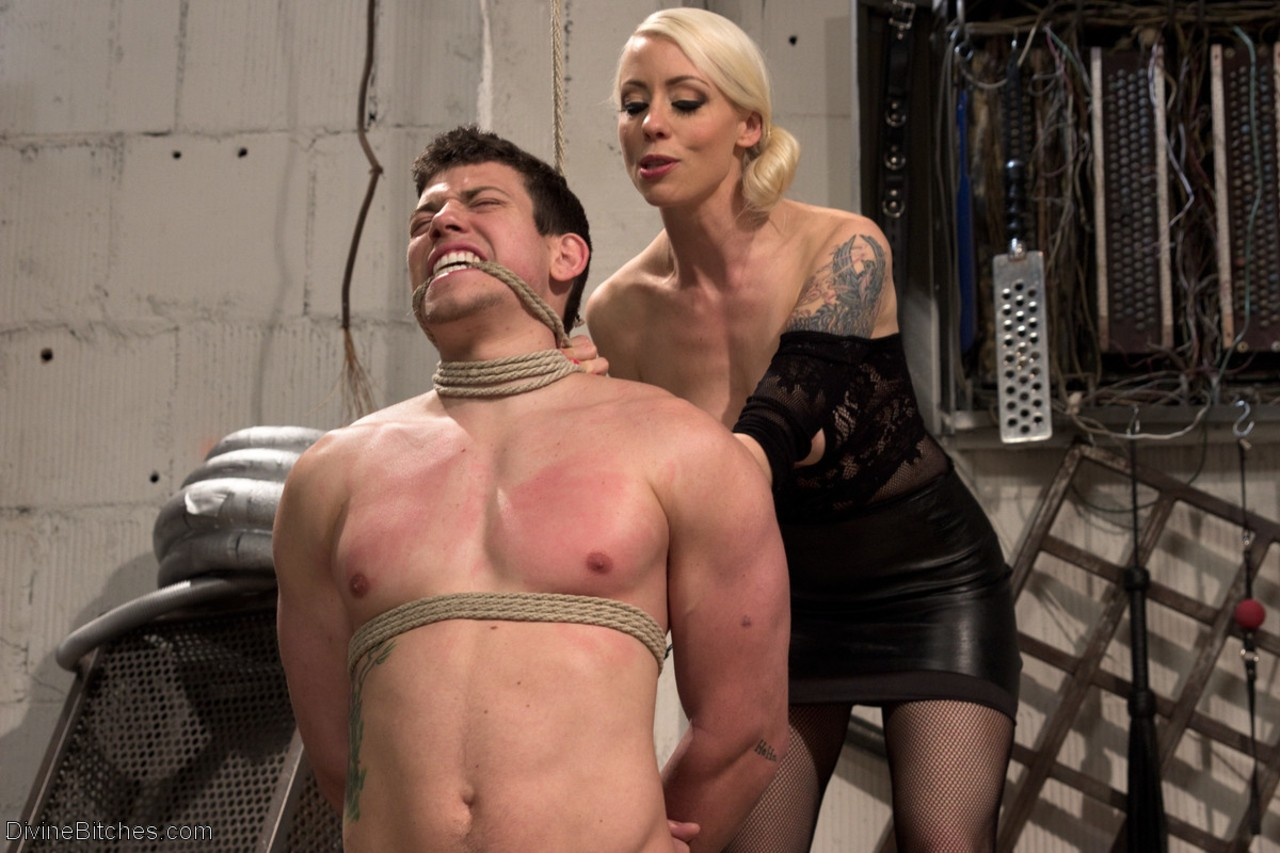 excellent femdom bitches dominate victim apologise, but
