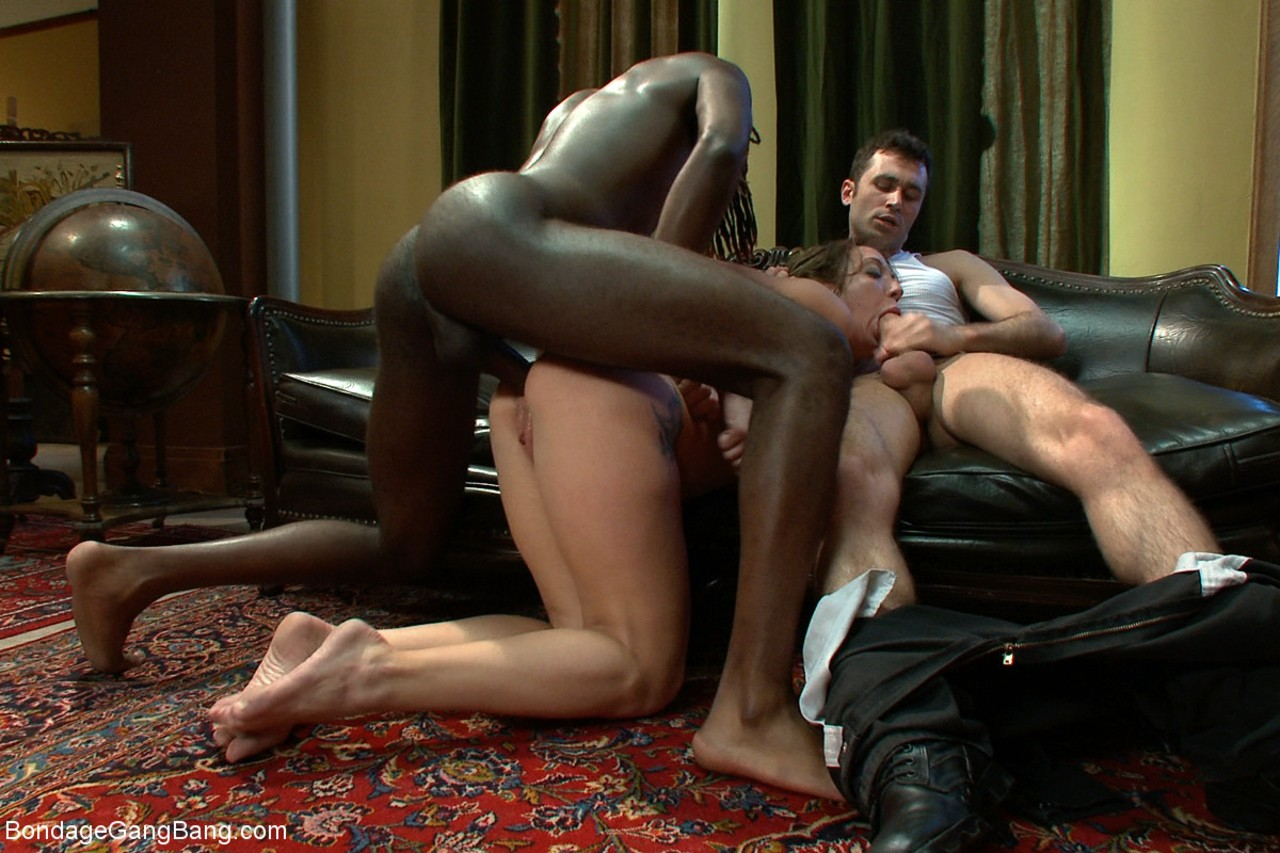 blonde gangbang galleries