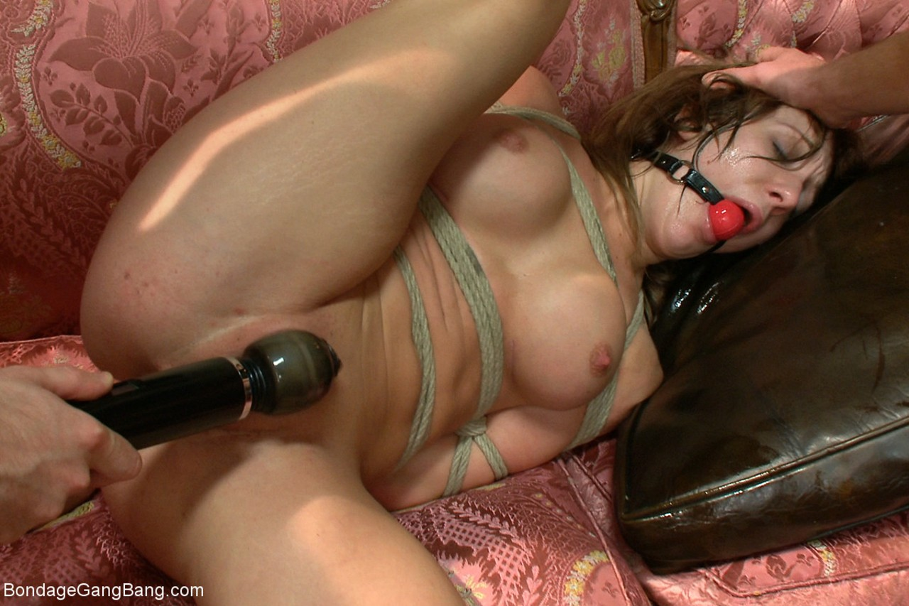 Young Amy Brooke nailed like the dirtiest bitch by a group of crazy men
