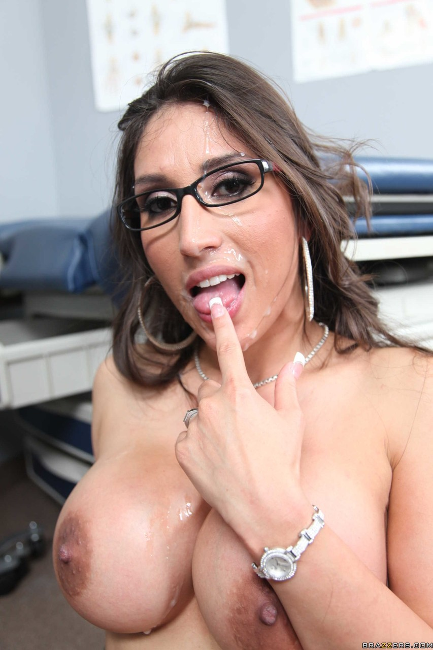 Alexis Breeze Porn hot latina doctor alexis breeze fingers while fucking on the