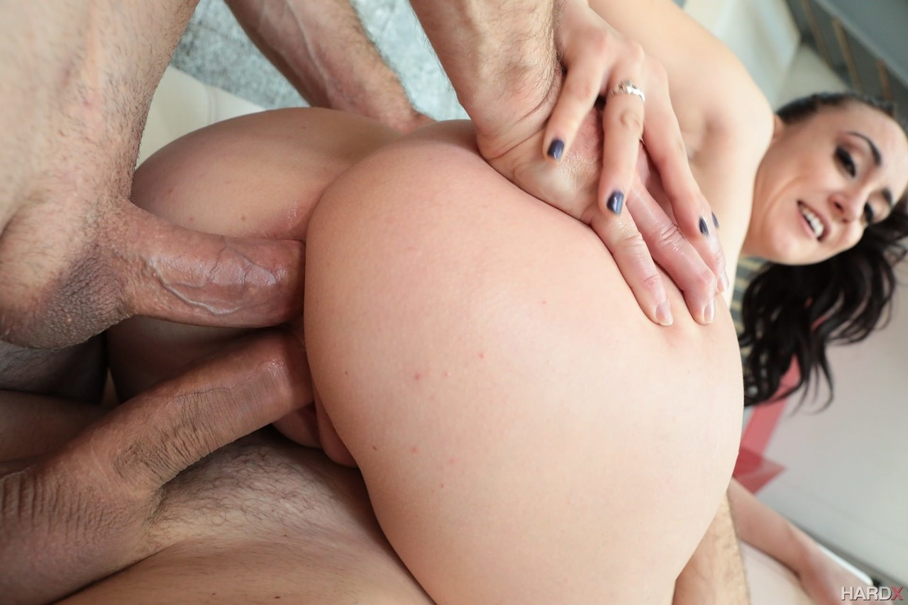 Hot First Double Penetration
