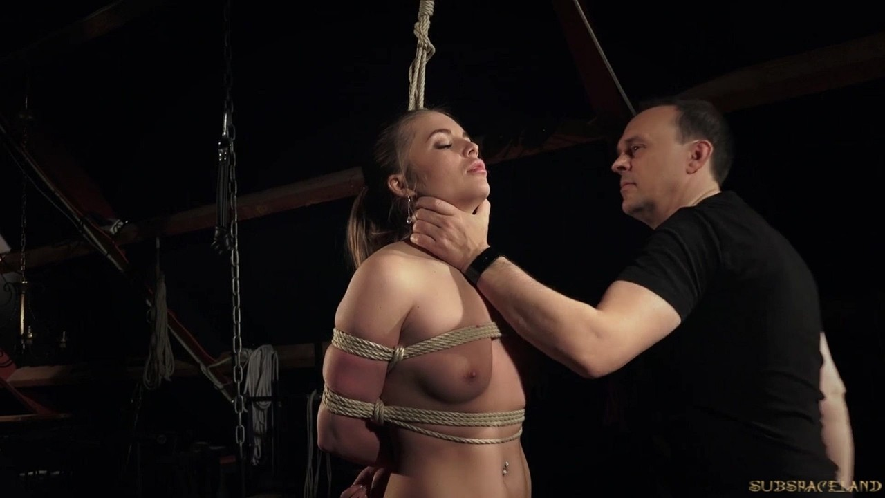 Hot Blonde Tied Up Fucked