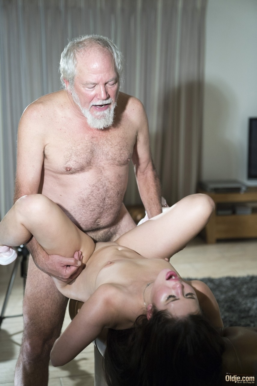 Grandfather cock pussy panties
