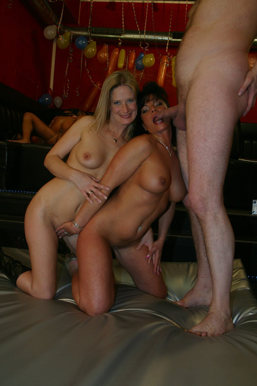 Wives wild sex party