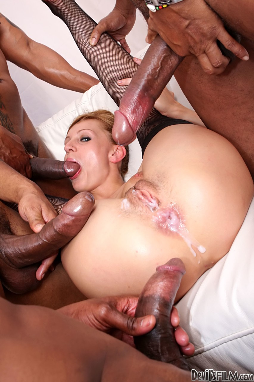 Gay Cum In Ass Gangbang
