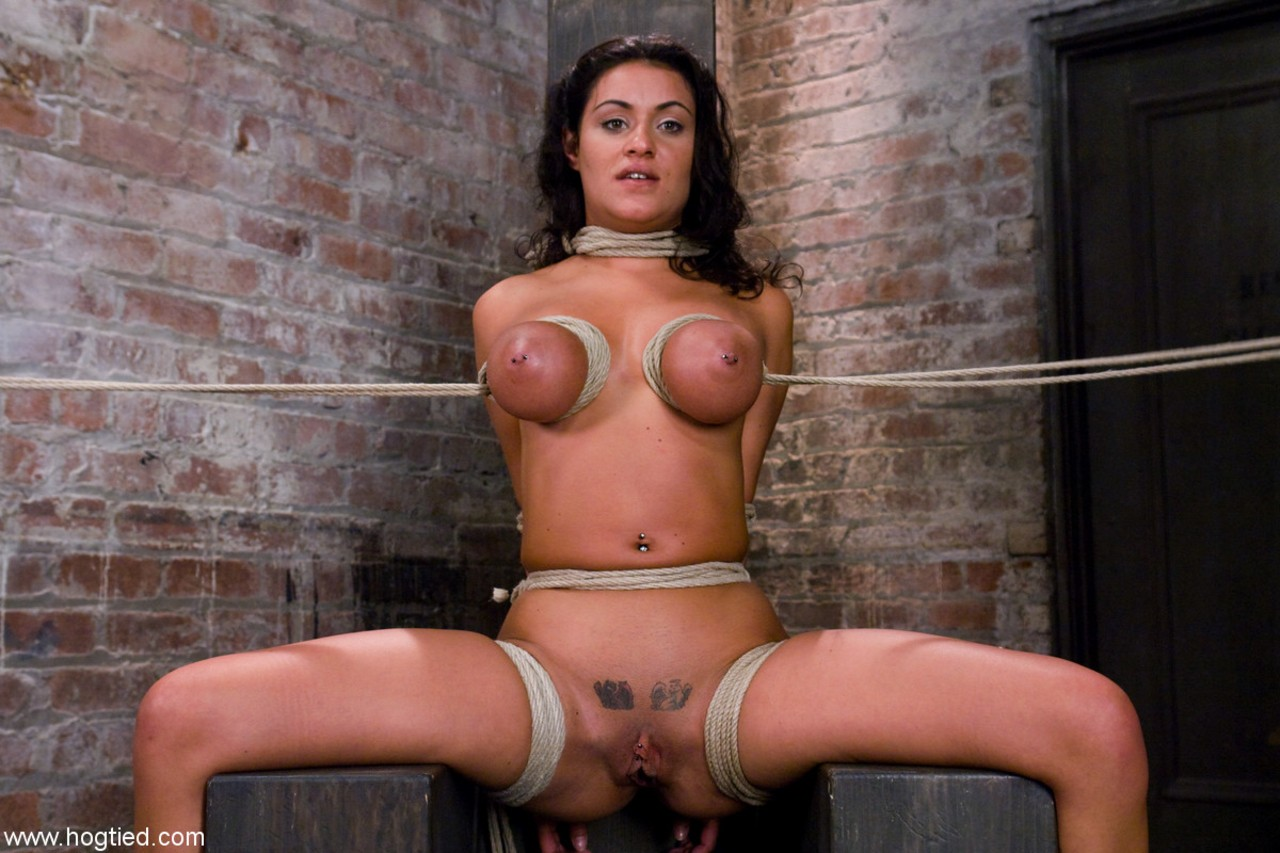 Charley chase hogtied