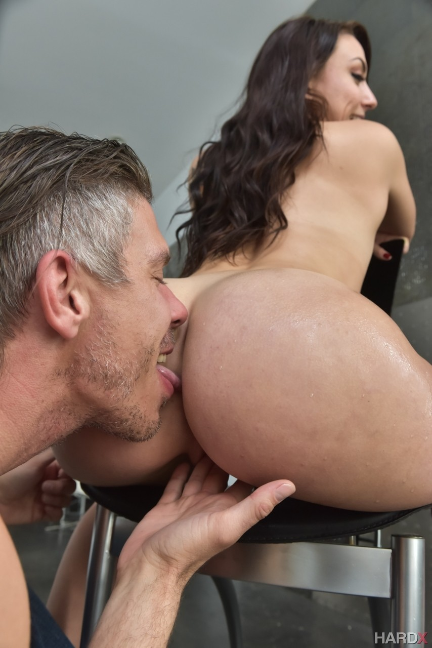 Latina Licking Ass