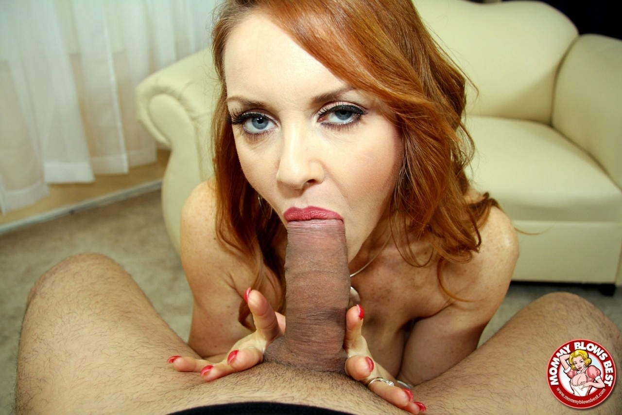 Red Head Milf Pov Blowjob