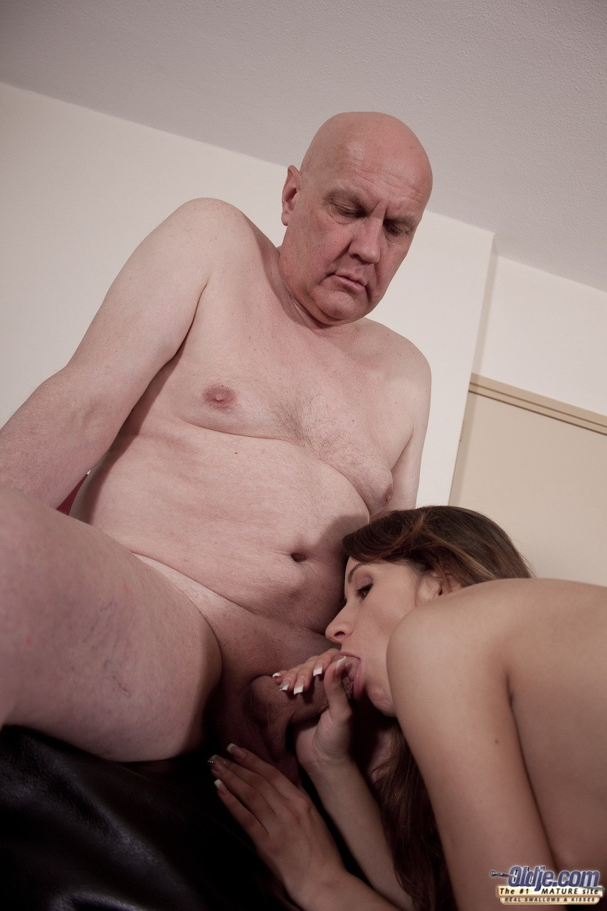 Old Man Cum Swallow Compilation Paul Is Liking His Breakfast In The