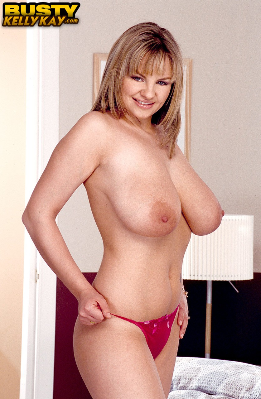 Big natural hooters are greatest pride of British beauty Kelly Kay