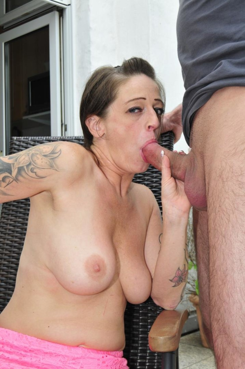 ... Men fuck German slut Adrienne Kiss and fill her pussy with cum twice ...