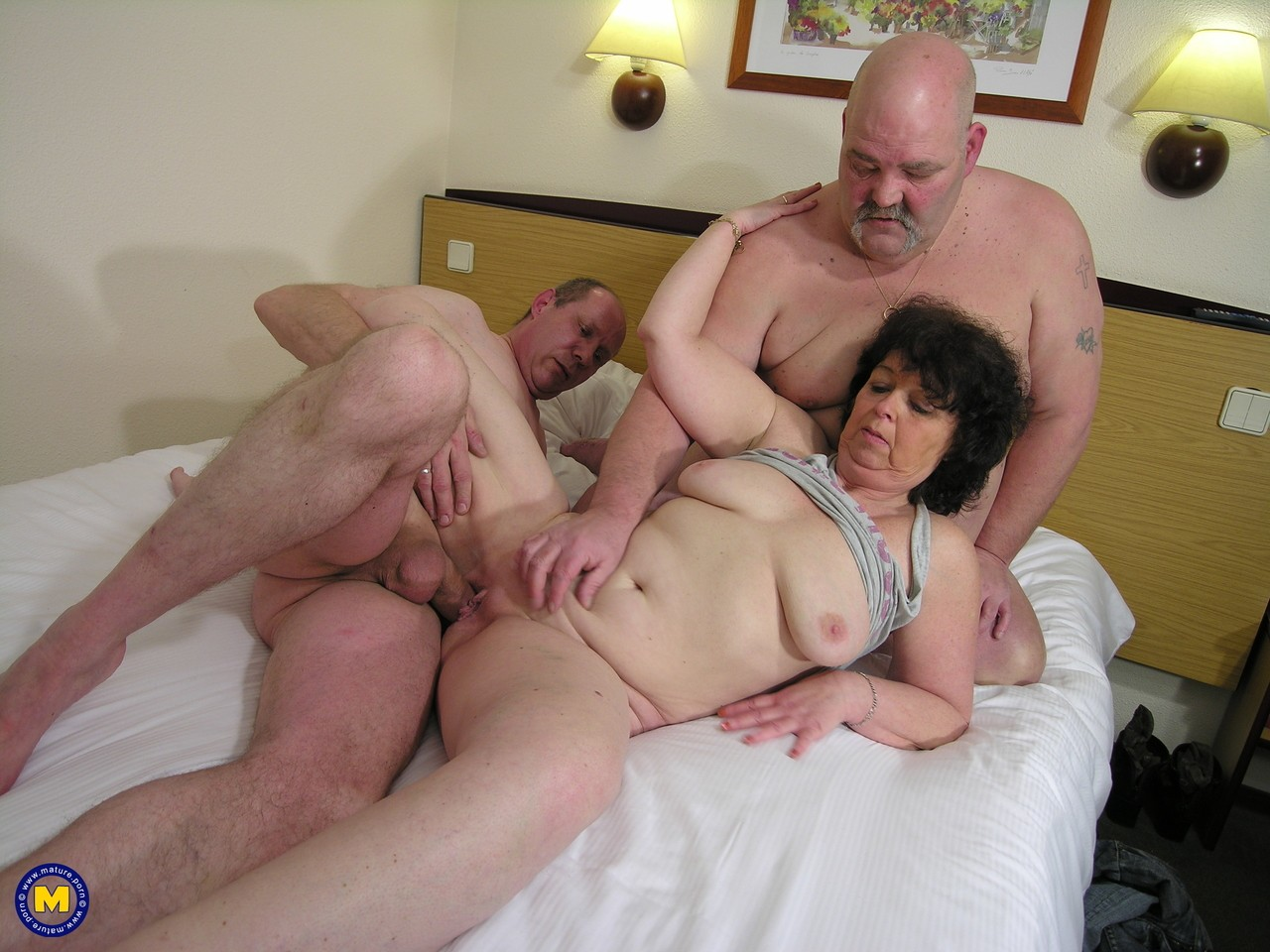 Granny Seduced By Her Daughter Hubby