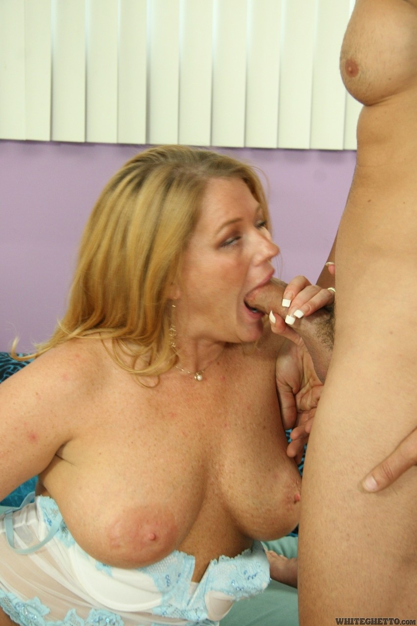 Mature Sucks Black Cock