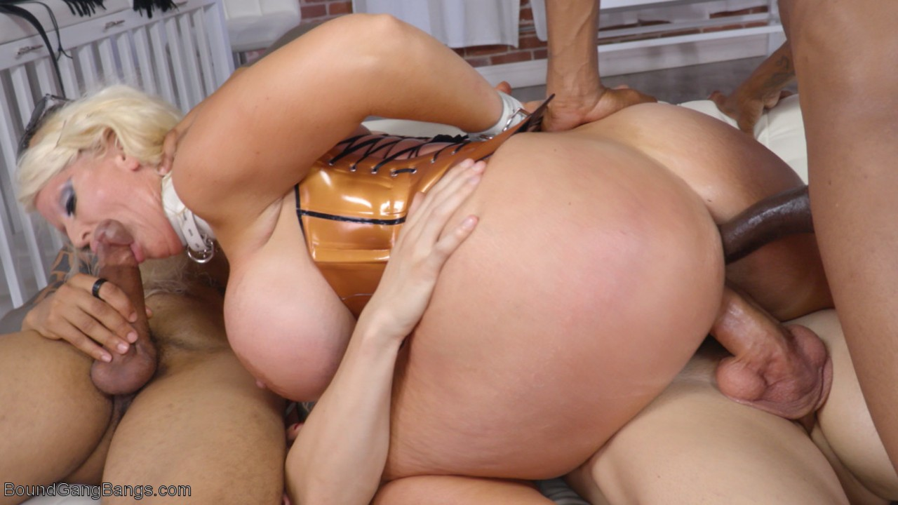 Alura Jenson Interracial Dp Porn buxom blonde alura jenson gets her holes used & abused in