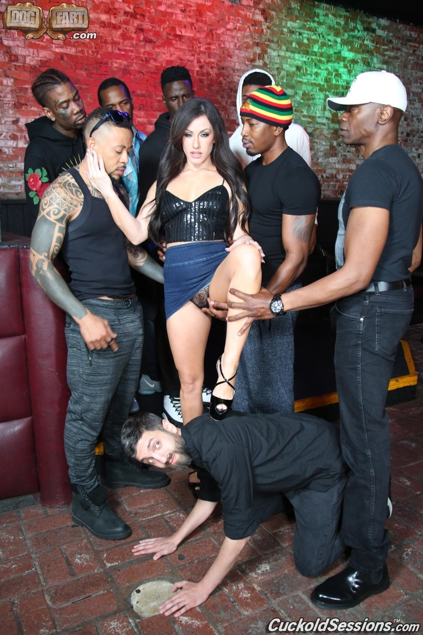 Slut Wife Gangbang Party