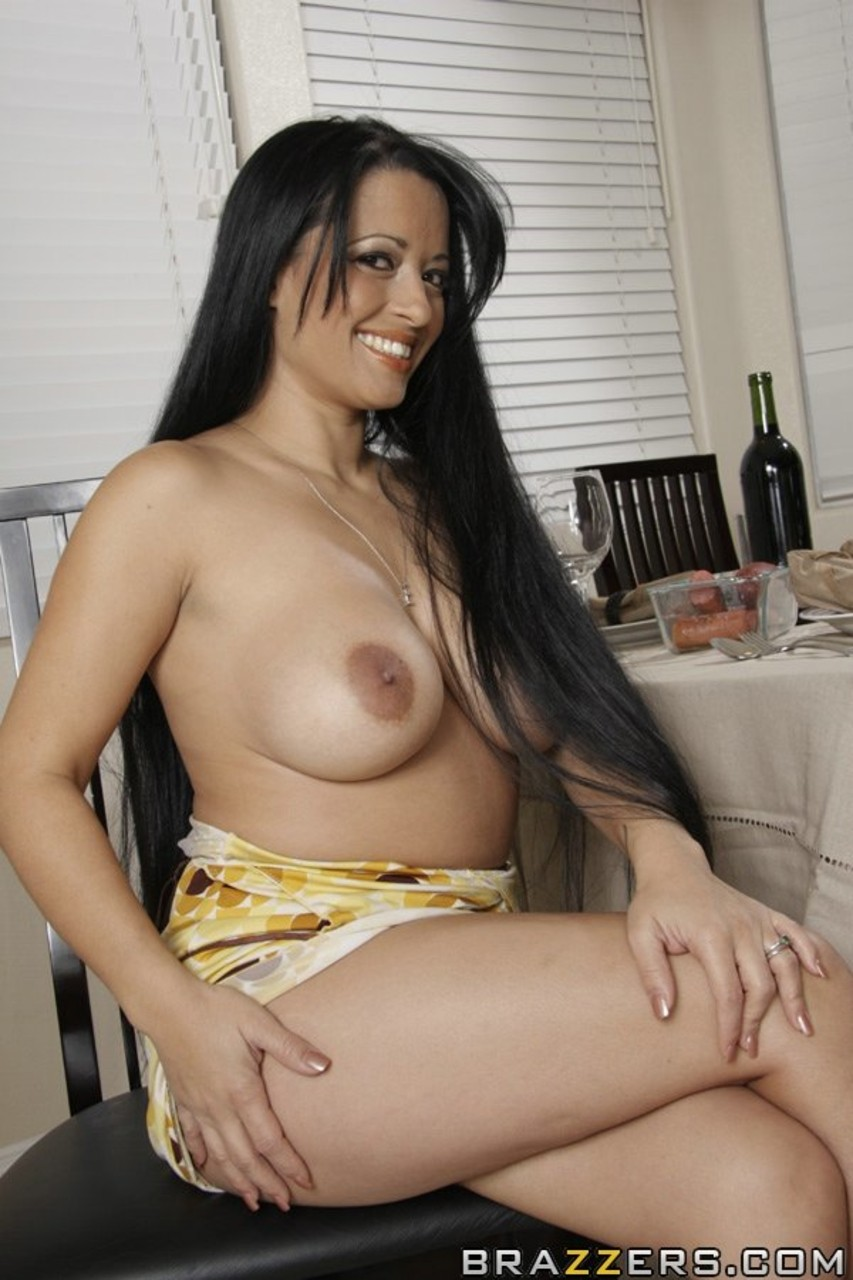 Black Hair Big Tits Latina