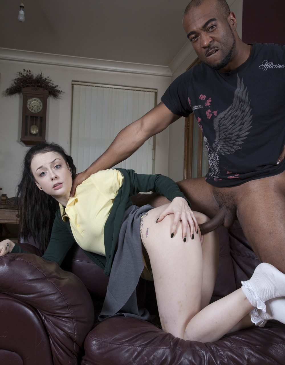 Alessa Savage Interracial